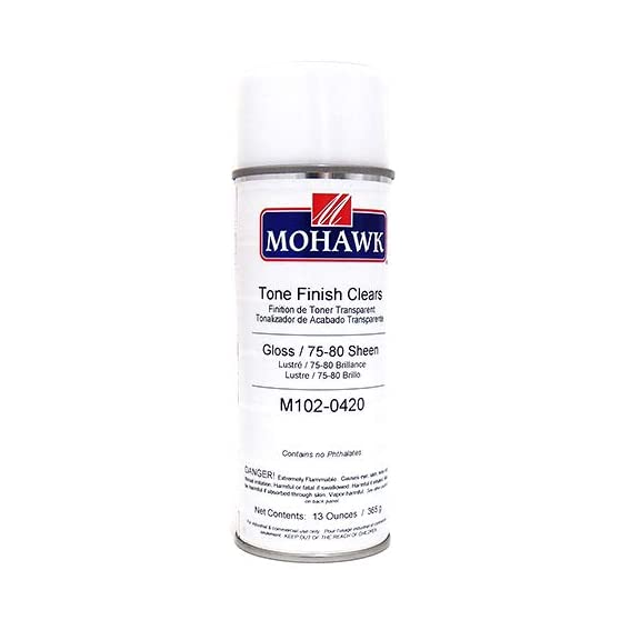 Mohawk M102-0420 Tone Finish Clear Gloss Lacquer, 13 ounce