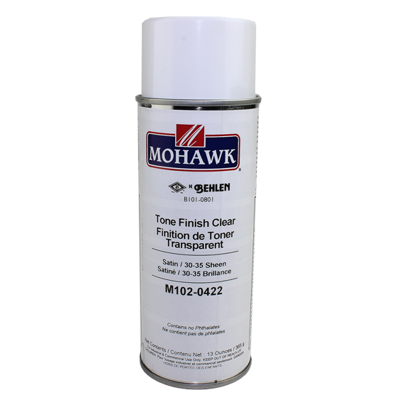 Mohawk M102-0422 Satin Tone Finish Clear Lacquer, 13 ounce