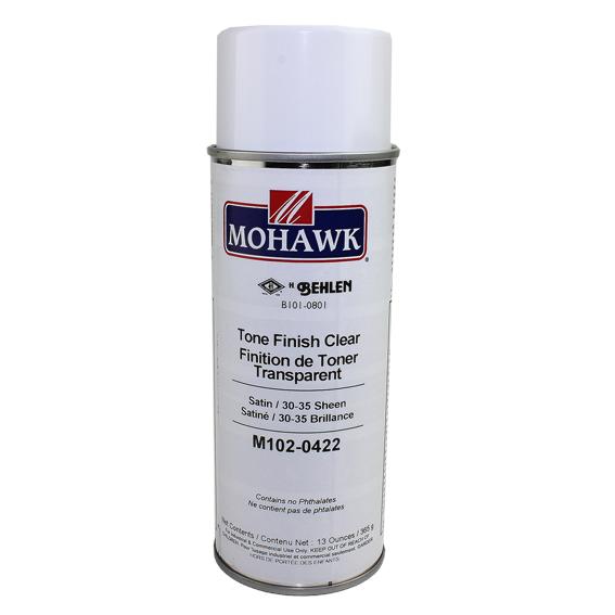 Mohawk M102-0422 Satin Tone Finish Clear Lacquer, 13 oz.