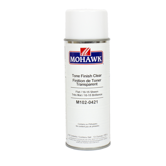 Mohawk M102-0421 Tone Finish Clear Flat Lacquer, 13 ounce
