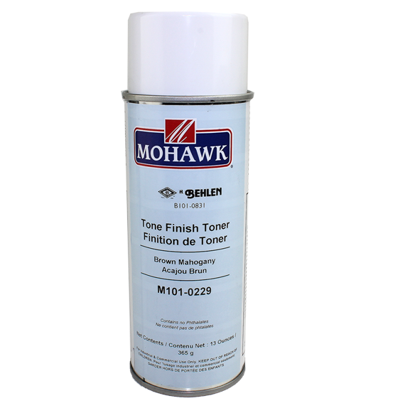 Mohawk M101-0229 Brown Mahogany Tone Finish Toner, 13 ounce