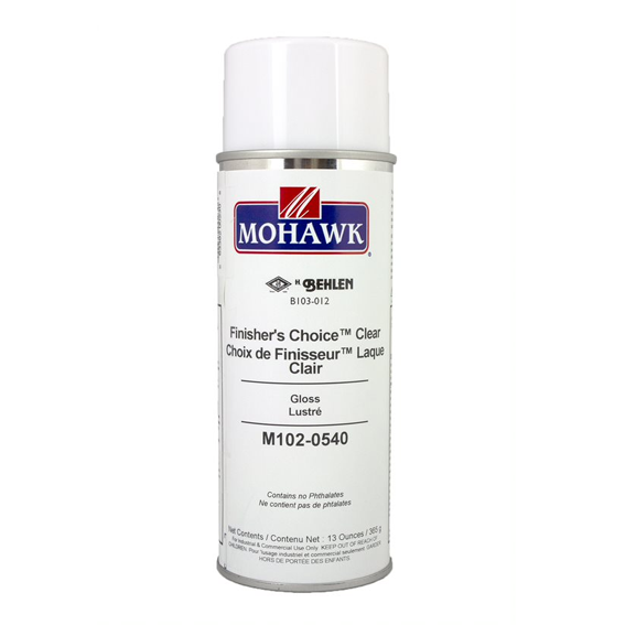 Mohawk M102-0540 Finishers Choice Clear Gloss Lacquer, 13 ounce