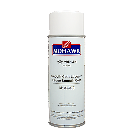 Mohawk M103-030 Smooth Coat Lacquer Aerosol, 13 ounce