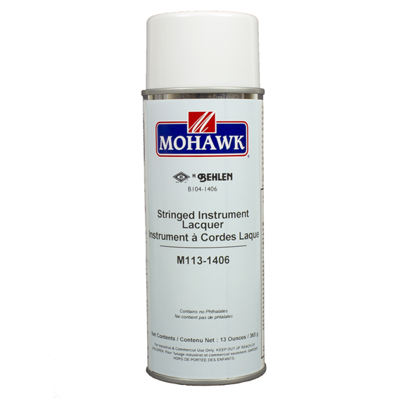 Mohawk M113-1406 Stringed Instrument Lacquer, 13 ounce