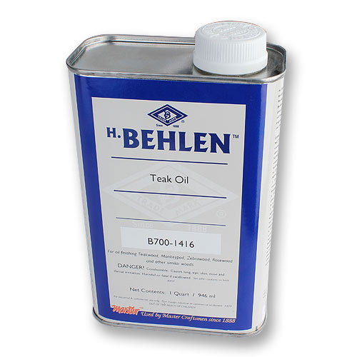 BEHLEN TEAK OIL - QUART