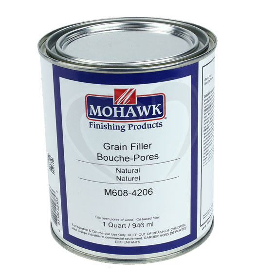 Mohawk M608-4206 Natural Grain Filler, Quart
