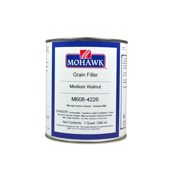 Mohawk M608-4226 Medium Walnut Grain Filler, Quart