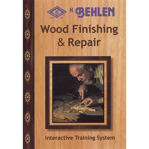 BEHLEN WOOD FINISHING AND REPAIR DVD