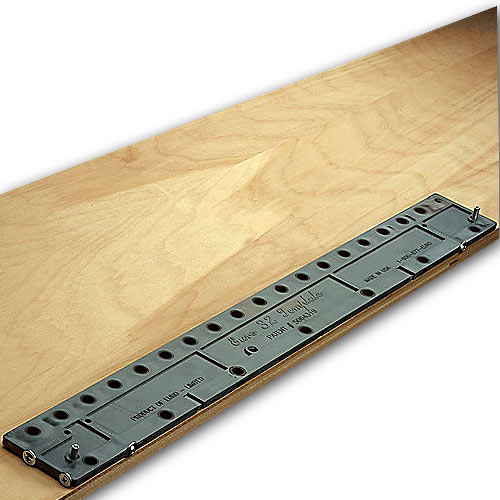 Euro-32 Template 32mm Line Boring Jig