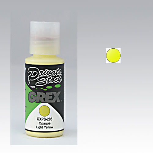 Grex Private Stock Opaque Light Yellow - 1 oz