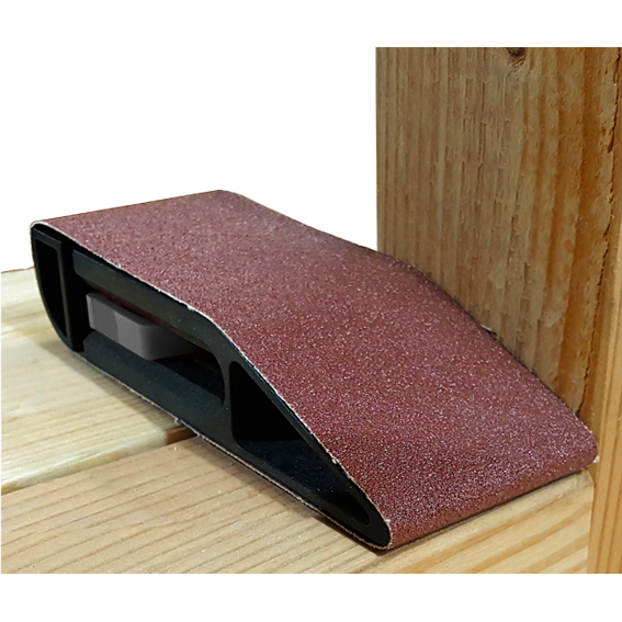 Milescraft #1605 Sand Devil 3 0 Sanding Block - In Use #4