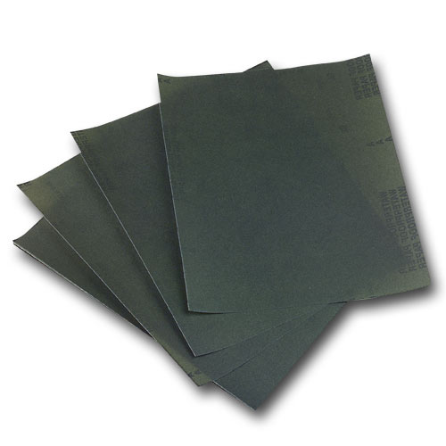 Norton SandWet Wet / Dry Sandpaper Sheets - 9 Inch X 11 Inch X 220 Grit - 25 Pk