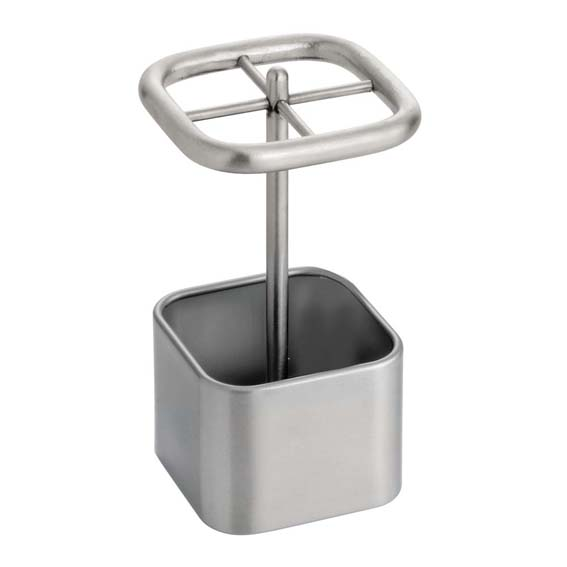 INTERDESIGN 16280 GIA STAINLESS STEEL TOOTH BRUSH HOLDER