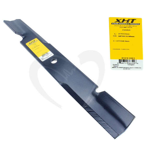 Sunbelt B1FE1061 21-Inch XHT Lawn Mower Blades fit 61-Inch Decks, Set of 6