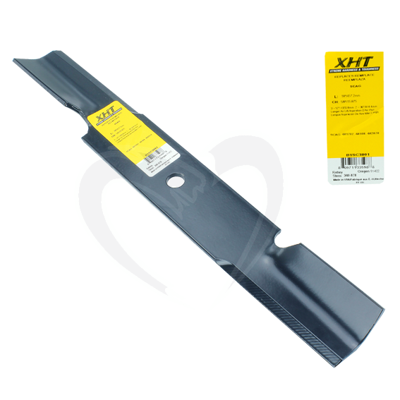 Sunbelt B1SC3801 18-Inch XHT Heavy Mower Blades fit 36-Inch & 52-Inch Decks, Set of 12