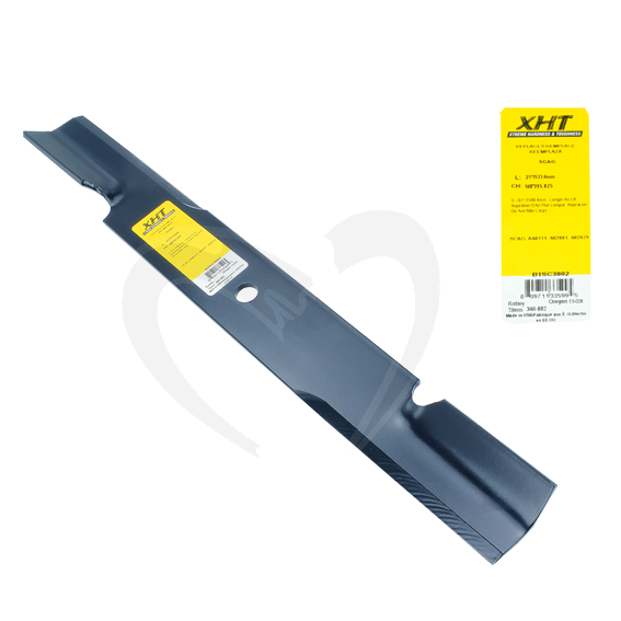 Sunbelt B1SC3802 21-Inch XHT Lawn Mower Blades fit 61-Inch Decks, Set of 9