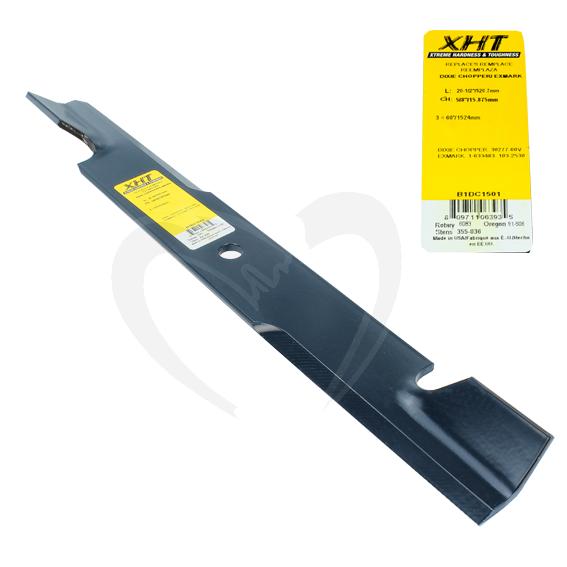 Sunbelt B1DC1501 20-1/2-Inch XHT Lawn Mower Blade fits 60-Inch Decks, 1 Blade