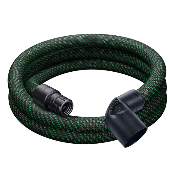Festool 500680 Anti-Static Extractor Hose D 27/32 x 3.5m-AS-90 Deg./CT