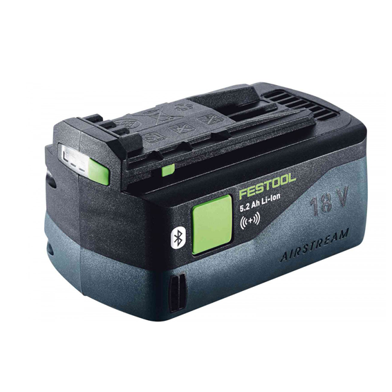 FESTOOL 202480 BLUETOOTH AIRSTREAM BATTERY PACK BP 18 Li 5.2 AH AS-ASI