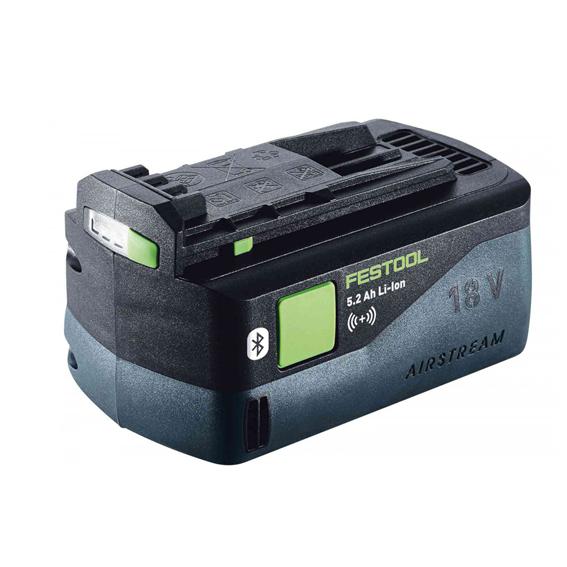 Festool 202480 Bluetooth Airstream Battery Pack BP 18 Li 5.2 Ah AS-ASI