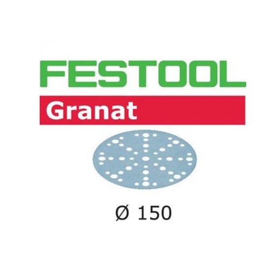 Festool 575162 Grit Abrasives STF D150//48 P80 GR//50 Granat