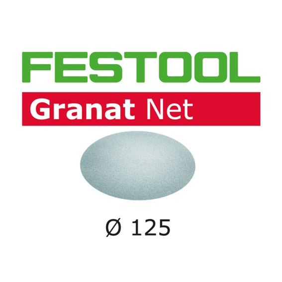 Festool 203301 Abrasive Net Granat Net STF D125 P320 GR NET/50