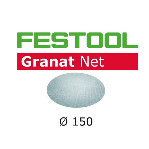 Festool 203303 Abrasive Net Granat Net STF D150 P80 GR NET/50