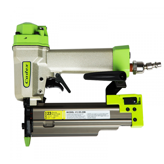 Cadex V1/23 35C-SYS 1/2 Inch to 1-3/8 Inch 23 Gauge Pin & Brad Nailer