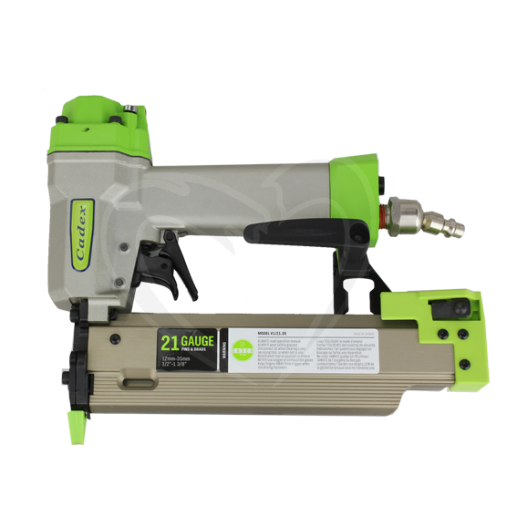 Cadex V1/21.35-SYS 1/2 to 1-3/8 21 Gauge Pin & Brad Nailer w/Systainer