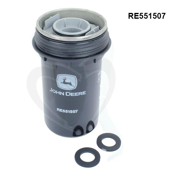 John Deere #RE551507 Fuel Filter Element