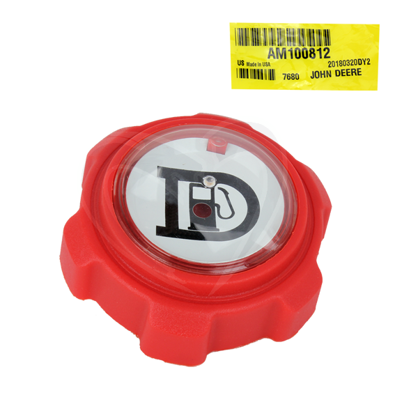 John Deere #AM100812 Fuel Tank Filler Cap