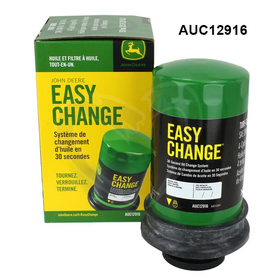 John Deere #AUC12916 Easy Change Oil & Filter