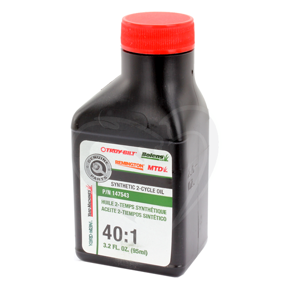 MTD 147543 Synthetic 2-Cycle Engine Oil, 3.2 oz.