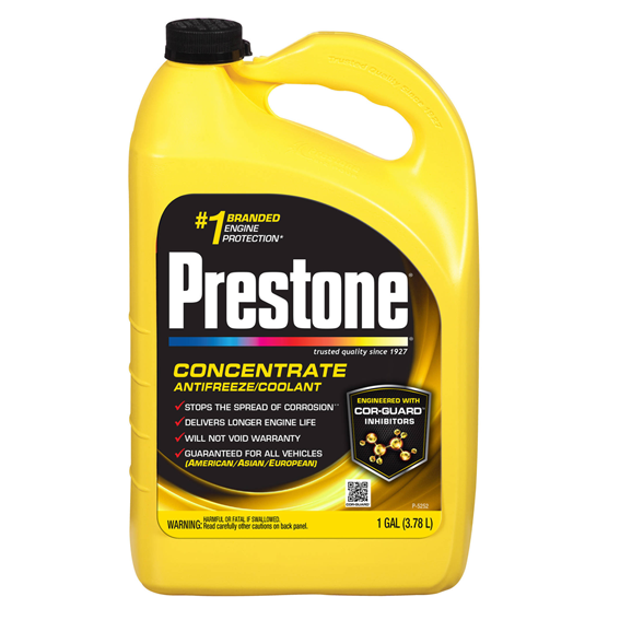 Prestone Extended Life 50/50 Prediluted Antifreeze / Coolant, Gallon