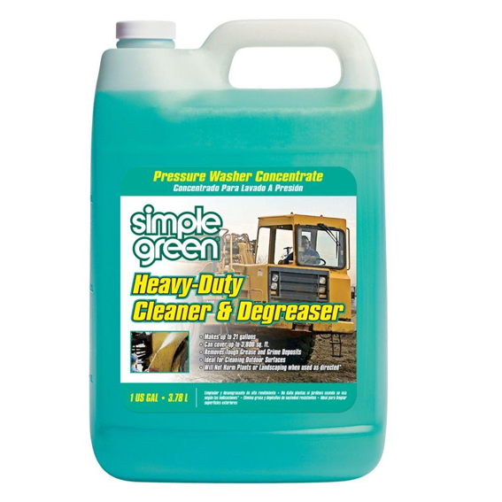 SIMPLE GREEN 2310000418203 HEAVY DUTY PRESSURE WASHER CLEANER AND DEGREASER CONCENTRATE - 1 GALLON