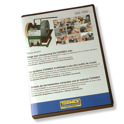 Tormek Sharpening System Instructional DVD