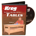 KREG: THE POCKET HOLE SOLUTION TO TABLES WITH JOHN SILLOATS DVD