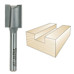 Whiteside 1027A Straight Plywood Bit - 1/4 SH x 19/32 CD x 3/4 CL