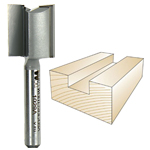 WHITESIDE #1029A STRAIGHT PLYWOOD BIT - 1/4 SH X 23/32 CD X 3/4 CL