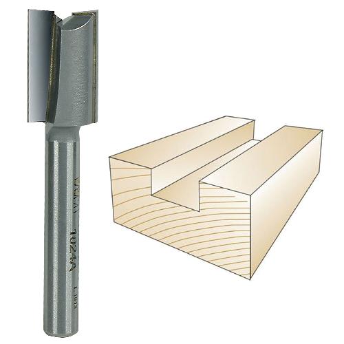 Whiteside 1024A Straight Plywood Bit - 1/4 Inch SH x 31/64 Inch CD x 3/4 Inch CL