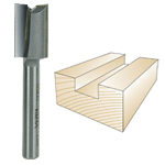 WHITESIDE #1024A STRAIGHT PLYWOOD BIT - 1/4 SH X 31/64 CD X 3/4 CL