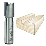 WHITESIDE #1075A STRAIGHT PLYWOOD BIT - 1/2 SH X 19/32 CD X 3/4 CL