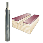 Whiteside SC33 Flat Bottom Veining Bit - 1/4 SH X 1/8 CD X 1/4 CL