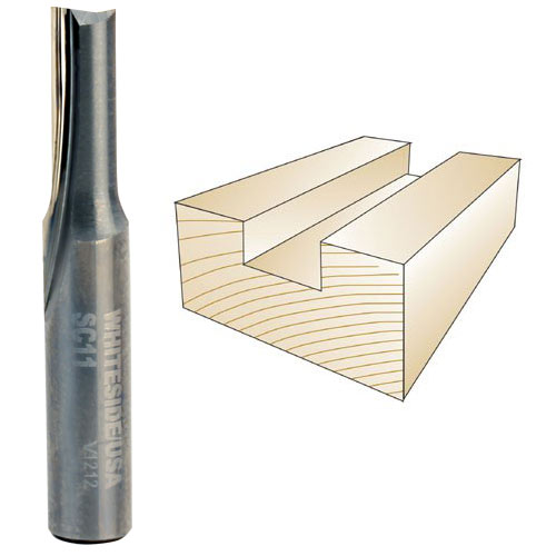 Whiteside SC11A 3/16-Inch Solid Carbide Straight Bit