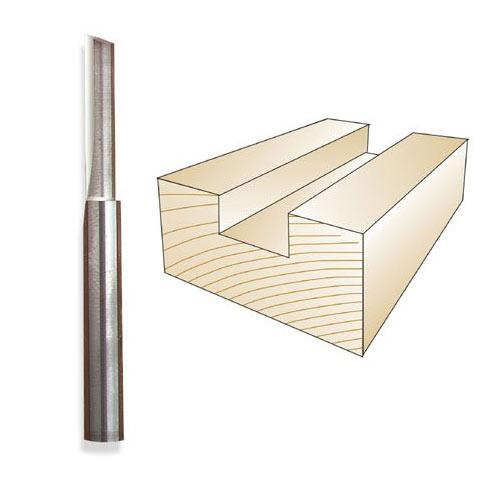 Whiteside SC07 Carbide Straight Bit, 1/4 x 1/4 x 1