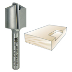 Whiteside 1302 Straight Mortising Bit - 1/4 SH x 3/4 CD x 3/4 CL
