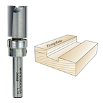 Whiteside 3002 Template Bit - 1/4 SH X 1/2 CD X 3/4 CL