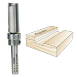 Whiteside 3004 Template Bit - 1/4 SH X 1/2 CD X 1 CL