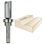 Whiteside 3008 Template Bit - 1/4 SH X 5/8 CD X 1 CL