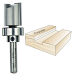Whiteside #3012 Template Bit - 1/4 SH X 3/4 CD X 3/4 CL